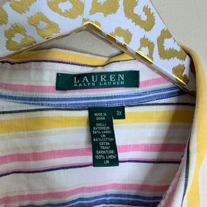 Lauren Ralph Lauren Tops - Lauren Ralph Lauren Plus Blouse | Size 3X